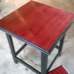 red-finish-custom-end-table